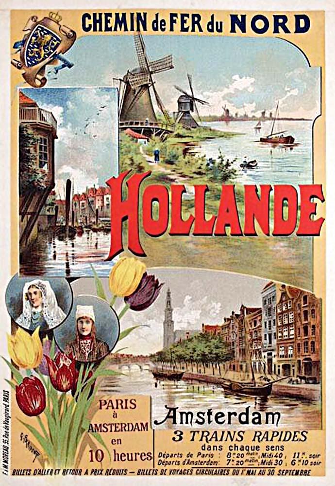 compagnie-des-chemins-de-fer-du-nord-hollande-nederland-1895