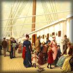 Van Den Haag naar Londen in de 19e eeuw