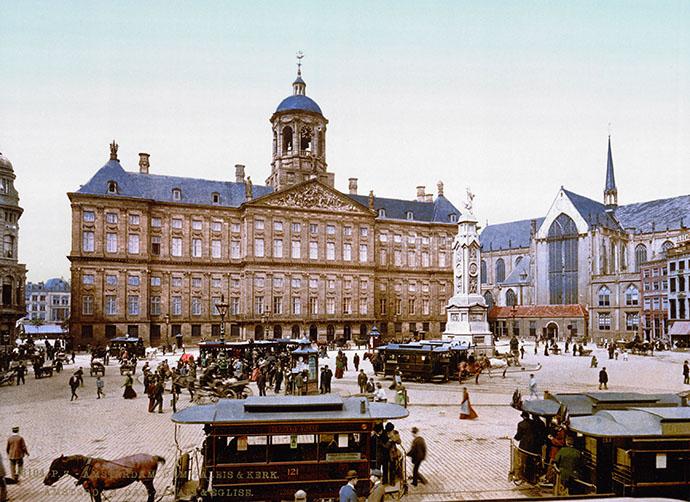 victoriaans-amsterdam-paleis-dam-fotochrom