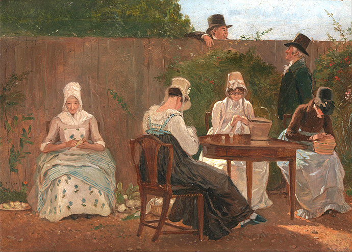 ingelijst-1800-the-chalon-family-in-london
