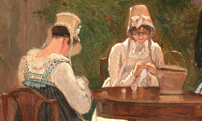 ingelijst-chalon-sisters