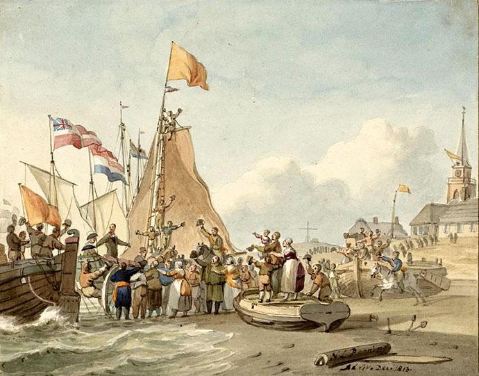 panorama-mesdag-landing-prins-willem-frederik-scheveningen-1813