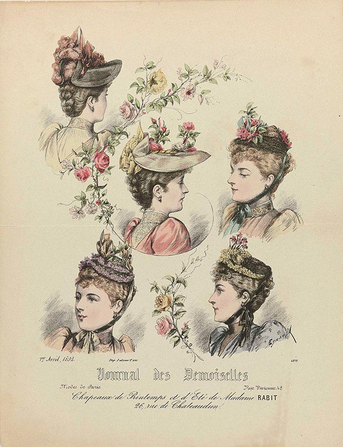 victoriaanse hoeden 19e eeuw