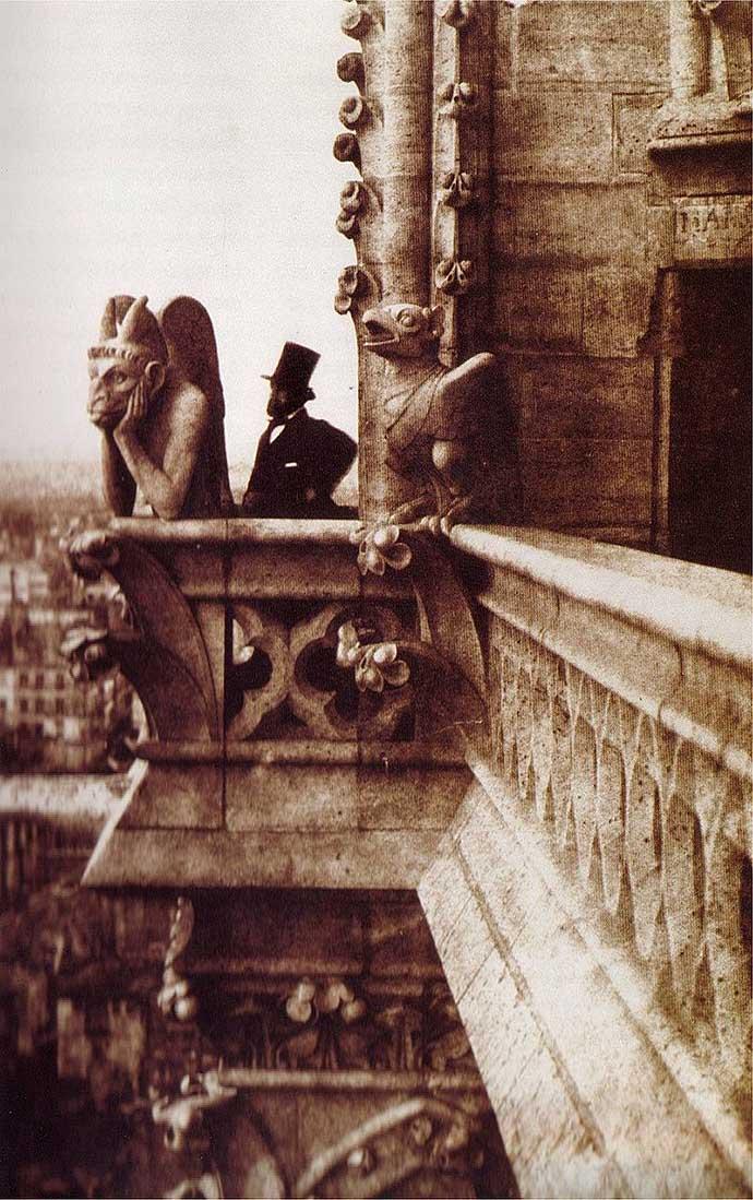 geschiedenis-notre-dame-19e-eeuw-le-stryge