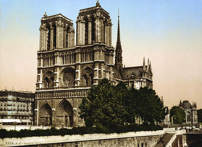 geschiedenis-notre-dame-fotochroom-19e-eeuw-foto-kleur-1890-1900