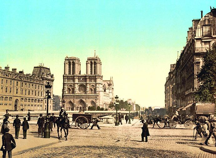geschiedenis-notre-dame-fotochroom-19e-eeuw-foto-kleur