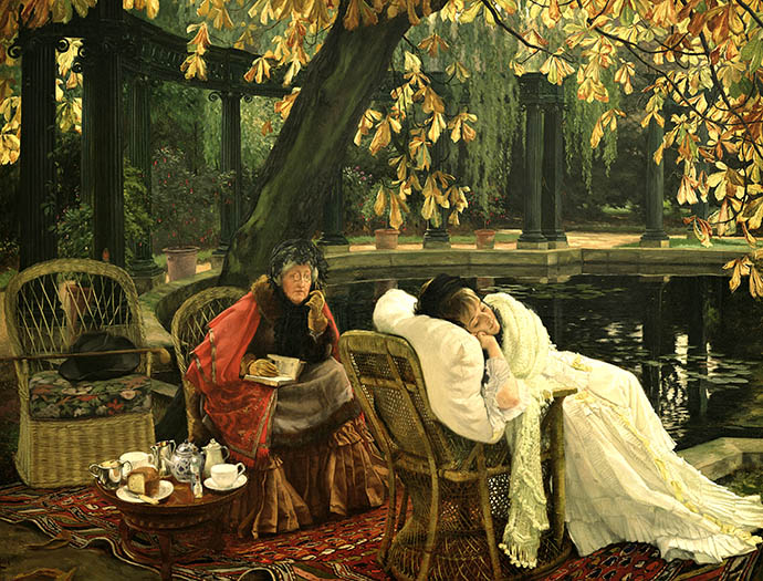 illustratie werk James Tissot