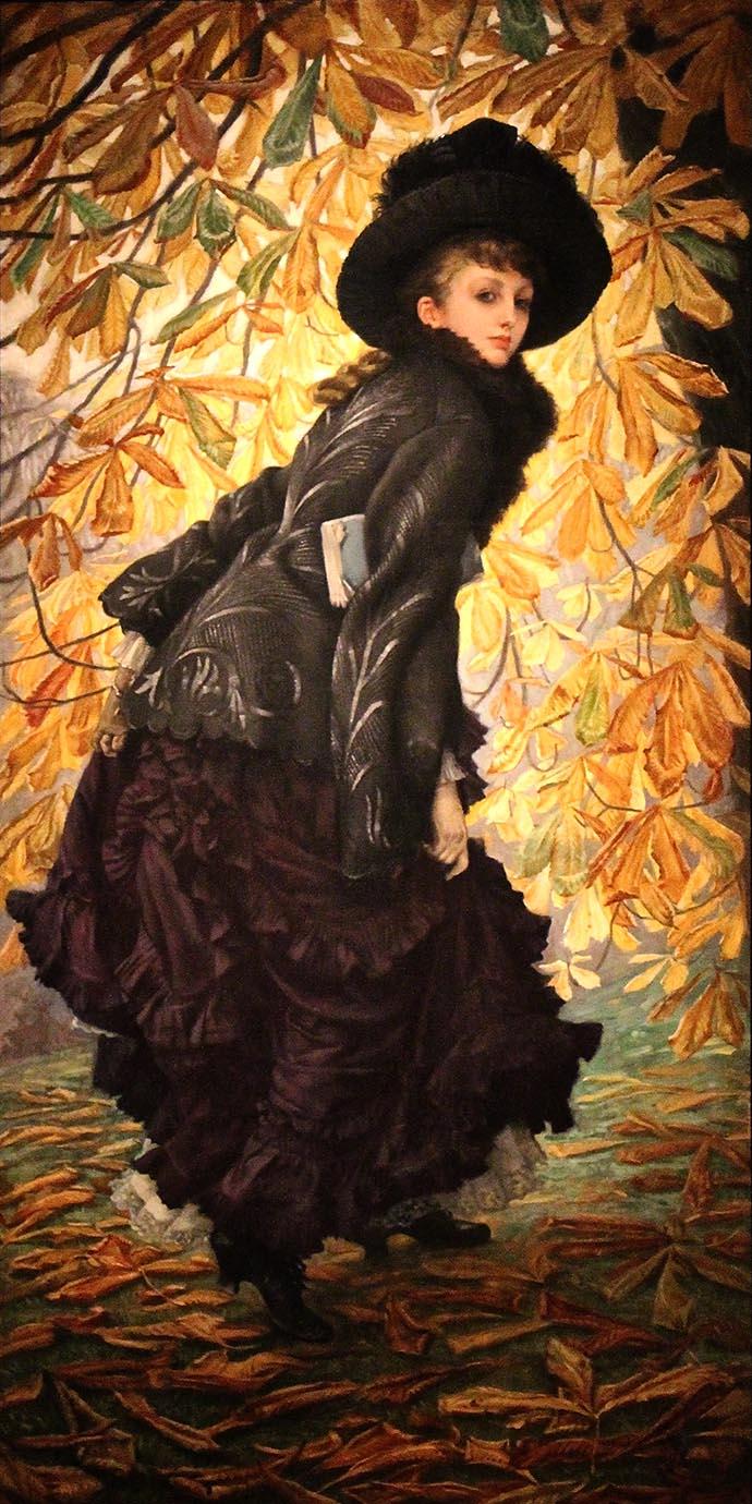 Kathleen Newton door James Tissot October