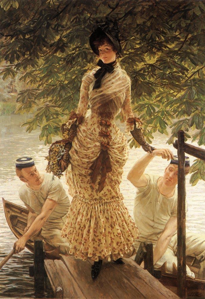 Voorbeeld Kathleen door James Tissot