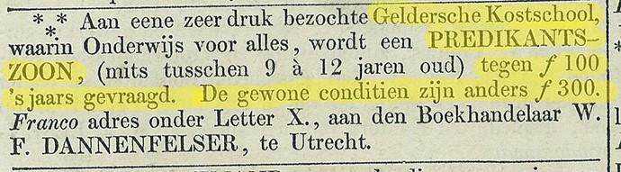 krant-1857-domineeszoon-kostschool-korting