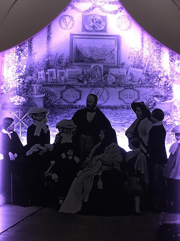 Het gezin van koningin victoria