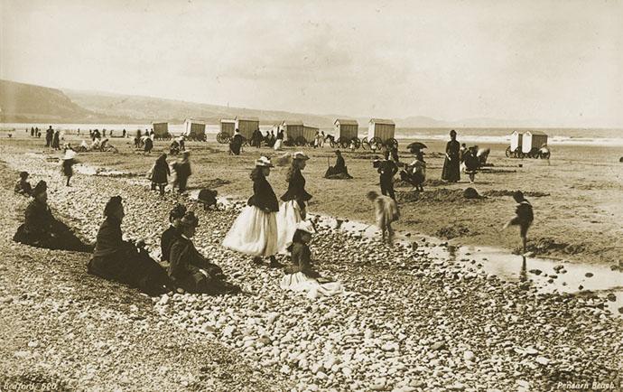 victoriaanse-vakantie-pensarn-beach-francis-bedford-1806