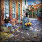 Zomers Nederland in de 19e eeuw