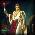 Ingelijst: Napoleon in kroningsgewaad (1805)