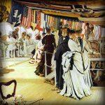 [Gastblog] Een feest én vlaggen aan boord bij James Tissot
