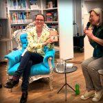 Boekpresentatie 'Aan tafel met Charles Dickens' in Den Haag