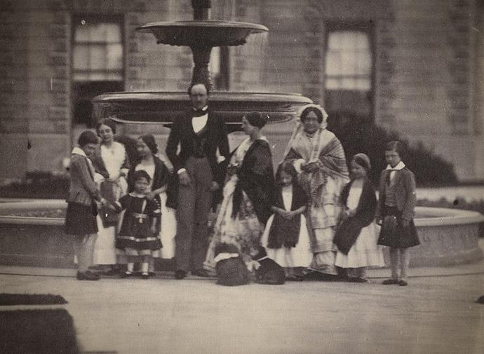 Koningin Victoria, Albert en gezin