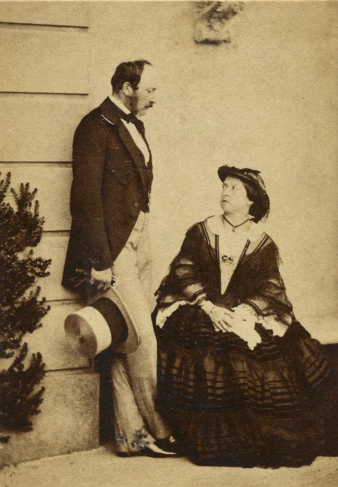 Victoria en Albert persoonlijke foto