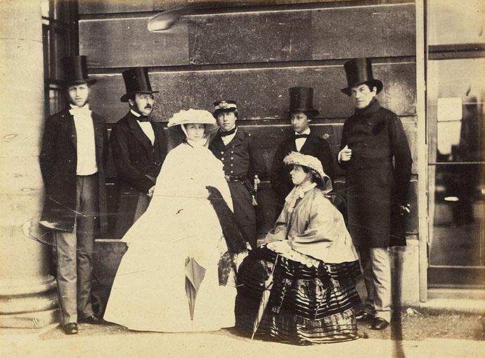 Victoria en Oom Leopold
