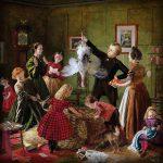 Vijf Victoriaanse kersttafereeltjes