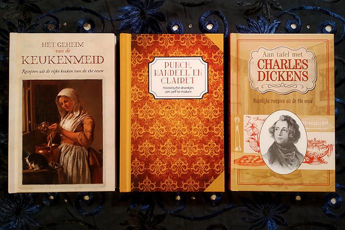 historische kookboekjes over de 18e en 19e eeuw