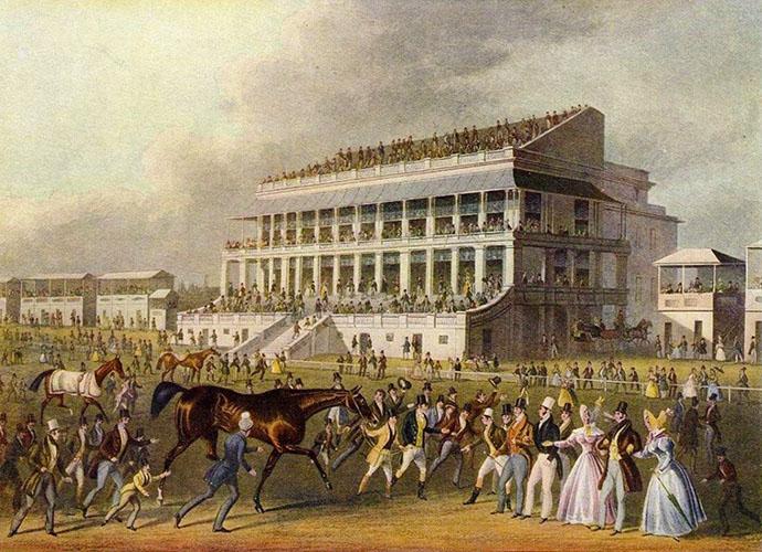 Grandstand van Epsom 1836