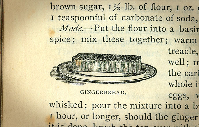 gingerbread mrs beeton