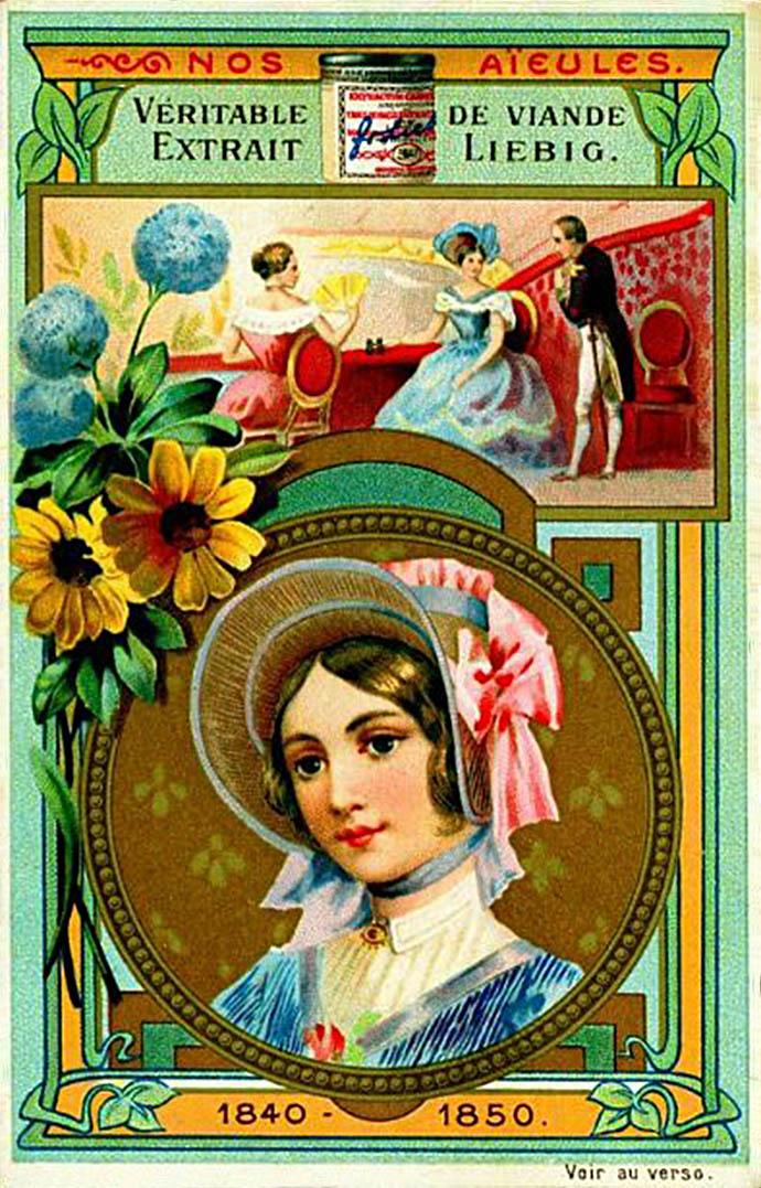 Liebig Onze Grootmoeders 1840-1850