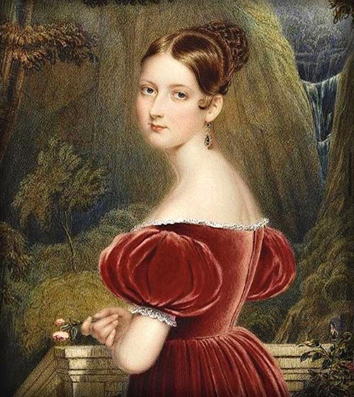 prinses Victoria 17 jaar 1836