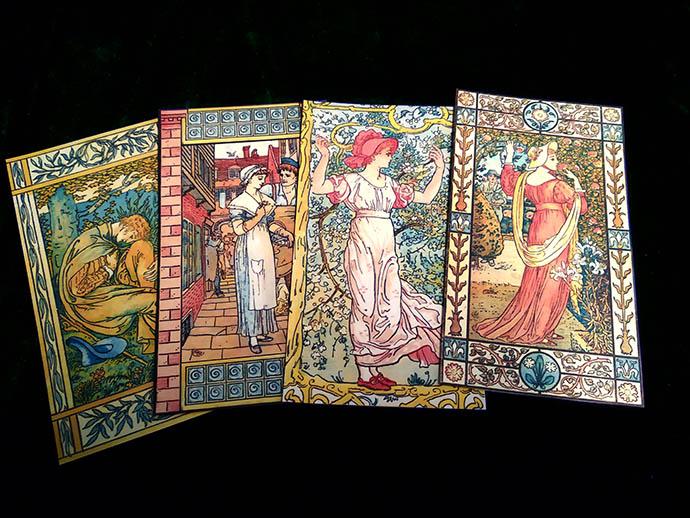 Victoriaanse boekenleggers