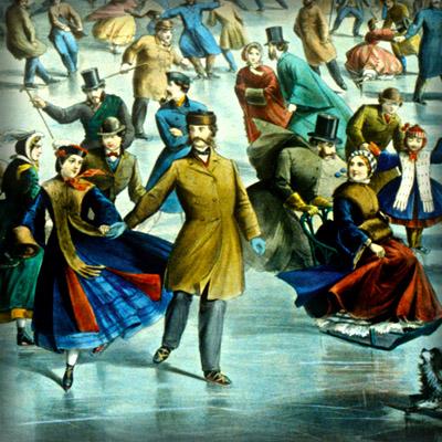 schaatsen in de Victoriaanse tijd
