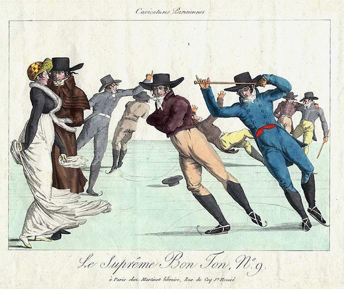 schaatsen regency periode