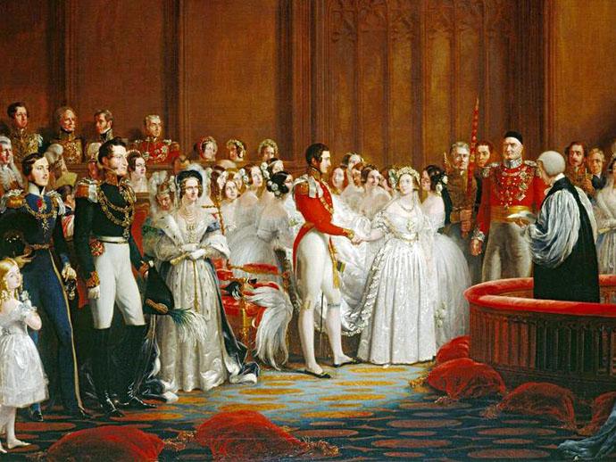 bruiloft Victoria en Albert