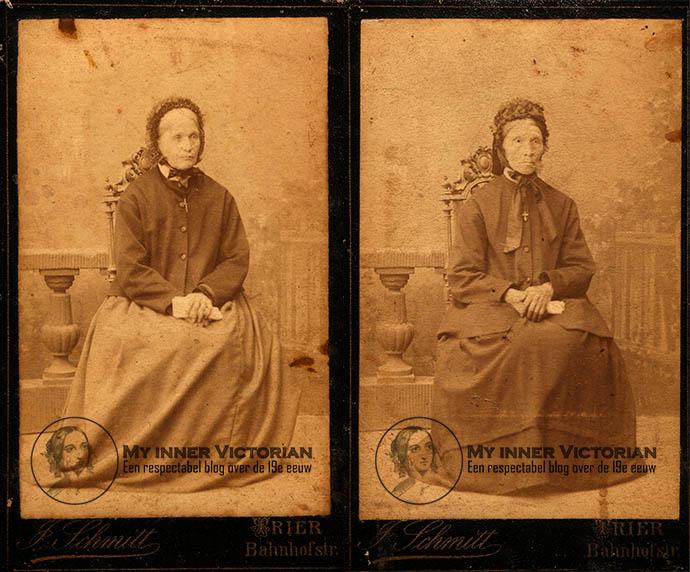 Victoriaanse oude vrouwen