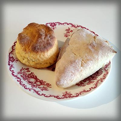 Victoriaanse scones, twee soorten