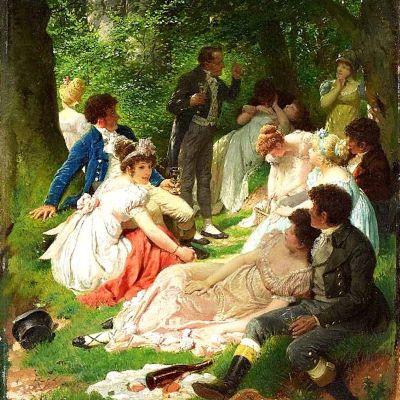 Regency-picknick