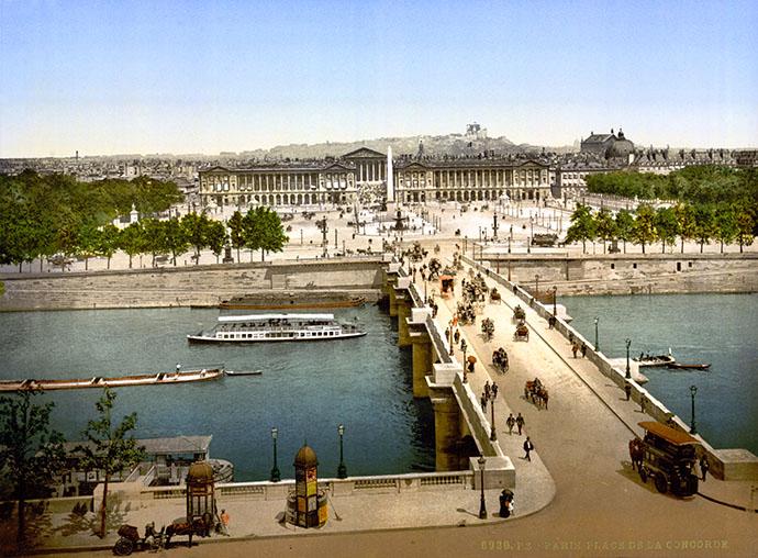 victoriaans-parijs-pont-de-la-concorde-fotochroom-1890-1900.