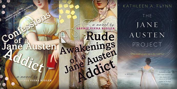 Drie moderne romans rond Jane Austen.