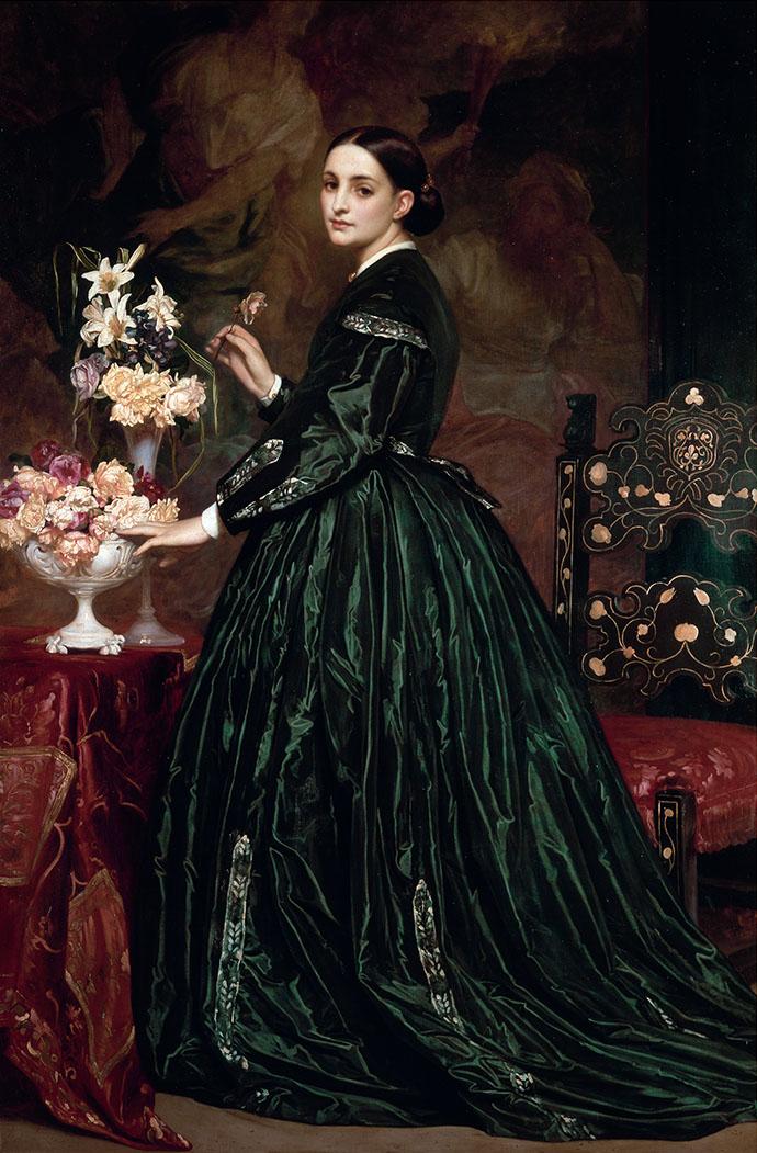 Victoriaans portret 1864