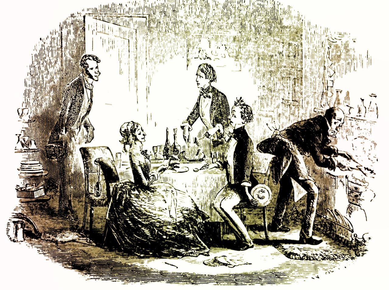diner bij David Copperfield
