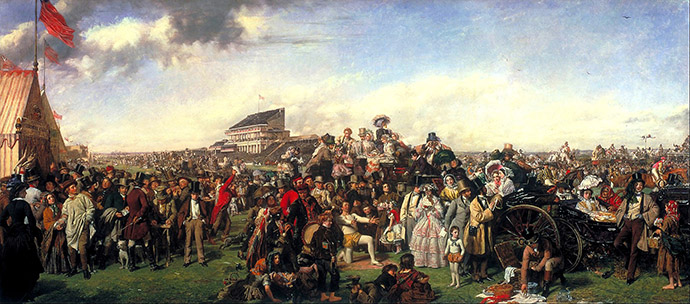 the derby day william powell frith