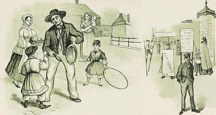 reclame in de 19e eeuw