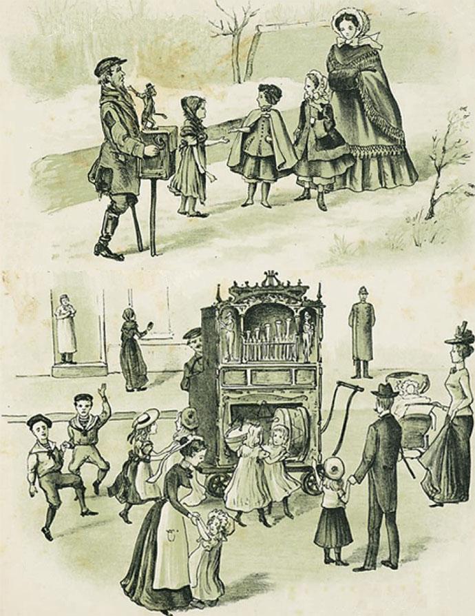 straatmuziek 19e eeuw
