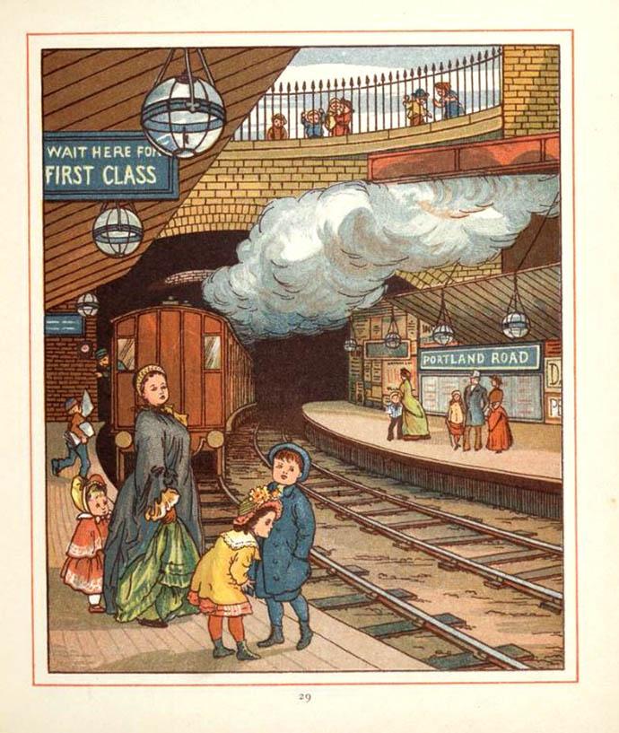 London Underground 1883
