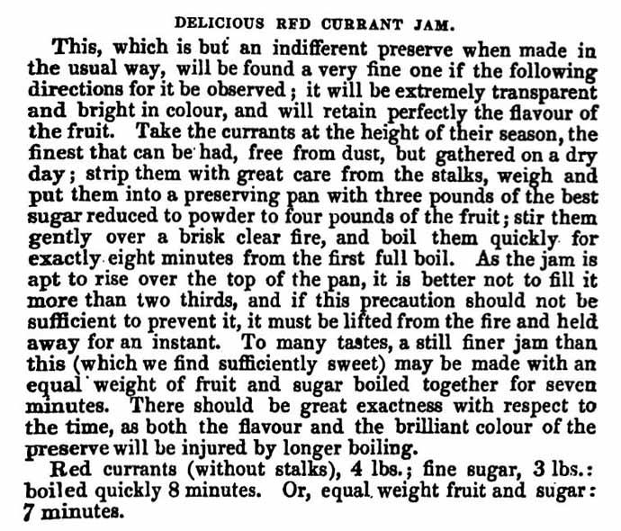 recept voor aalbessenjam rode bessen jam