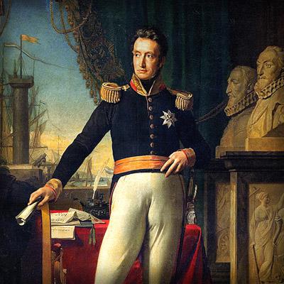 Willem I in 1823