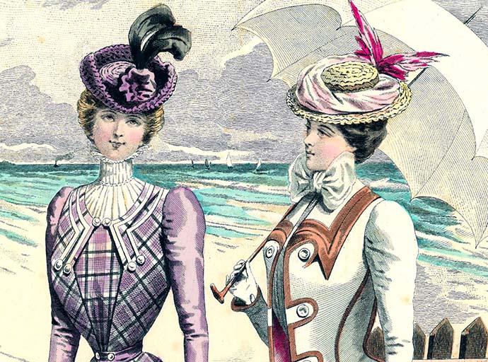 Victoriaanse mode 1898