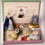 Victoriaanse papieren poppen met prachtige jurken