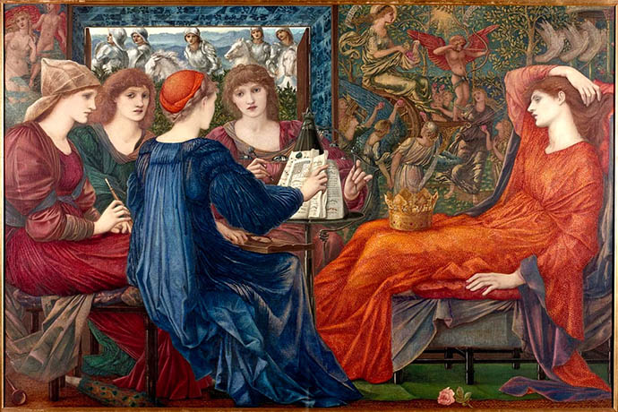'Laus Veneris' door Edward Burne-Jones (1873-1875) [Publiek domein].