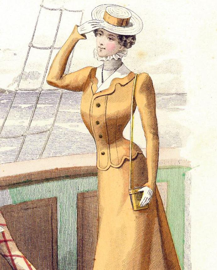 Mode voor geemancipeerde vrouw 1898